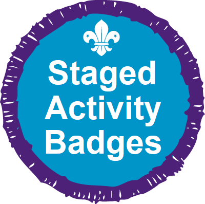 Staged Activity Badges